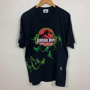 Vintage 90s Universal Studios Jurassic Park Shirt